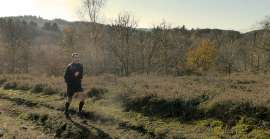 Trail running in the Monts d'Ambazac in the Haute-Vienne